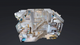 Image showing graphic from a virtual reality tour