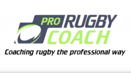 graphics featured on the pro rugby coach website video