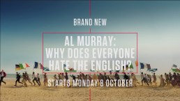 Image promoting Al Murray Video